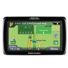 Magellan RoadMate 5045-MU 5.0 Touchscreen Portable GPS System w-North American Maps & One. Magellan RoadMate 5045-MU 5.0 Touchscreen Portable GPS System  General Features:  Color: Black/Gray  5.0-inch Touchscreen WQVGA color, transmissive display  Preloaded maps of the United States, Canada and Puerto Rico   One Free Map Update included  OneTouch  Free Lifetime Traffic  Highway Lane  Assist  Spoken street names and directions  Highway exit POIs search  QuickSpell   Multi-destination routing…