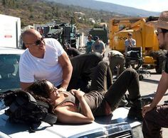 Dipika Padukone Romance with Vin Diesel.Deepika Padukone gets candid with Vin Diesel on the sets of xXx.Vin Diesel made our hearts happy by posting a very se. Fast And Furious, The Furious, Vin Diesel, Dom And Letty, Dipika Padukone, Dominic Toretto, Mustang Girl, Christopher Plummer, Rip Paul Walker