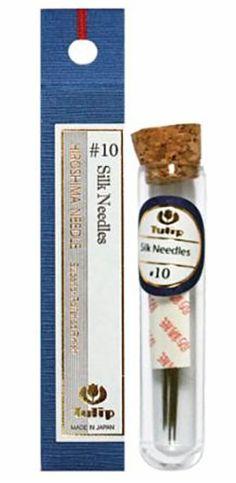 Notions - Tulip Needles - Silk Needles # 10 - 6 pack