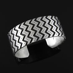 Geometric Bracelet by Roland Brady | Contemporary Native American | Navajo | Jewelry | wrightsgallery.com