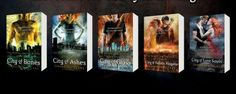 Almost all of the Mortal Instruments series!!!! :-)