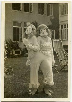 ...weird costumes
