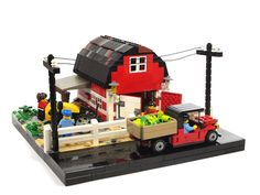 Farm by de-marco. http://www.eurobricks.com/forum/index.php?showtopic=57819