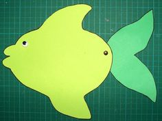 kids craft fish preschool