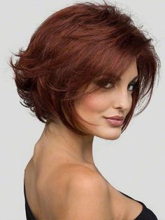 Angie by Envy has flippy layers in the back and long, face framing layers in the front. Razored ends all around give this wig texture and style. It's one of the most youthful short lace-front wigs on the market today.  http://cysterwigs.com/products/angie-by-envy-alan-eaton