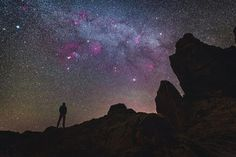 The winter Milky Way at Roques de García in Tenerife by @terra.pix.  Tenerife is an awesome location for astrophotography; it is an island in the middle of the ocean. Although the winter Milky Way is not as bright as the summer Milky Way as we are looking away from its core it features a lot of diffuse nebulae such as the Orion Nebula the Horsehead Nebula the California Nebula and the Rosetta Nebula to name a few well known. The image is a composition of two different photos: one for the…