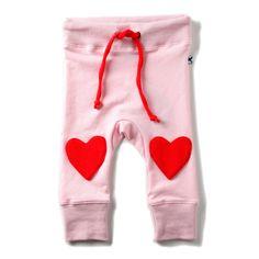 Minti Heart Knee Trackies