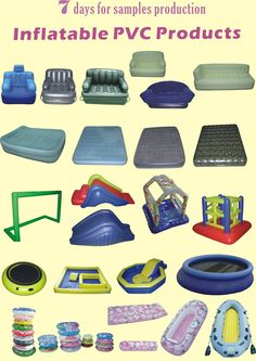 Inflatable PVC products! Pvc Fabric, Sewing Notions, Products, Gadget