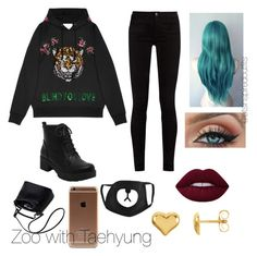 """""""Bts inspired outfits"""" by rachelullmann03 on Polyvore featuring Gucci"""