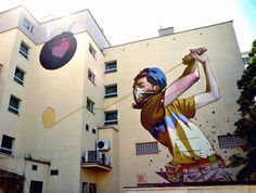 Surreal Murals by Etam Cru Turn Drab Facades into Eye Popping Imagery