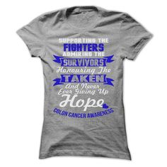 #Statestshirt... Nice T-shirts  Worth :$22.ninety fivePurchase Now  Low cost Codes View photographs & pictures of Support - Colon Cancer t-shirts & hoodies:In the event you do not completely love our design, you'll be able to SEARCH your favourite one throu....