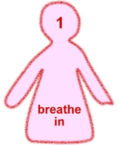 Calming gif to relieve panic attacks. Just breathe with the little doll, and it will help you. Anxiety Help, Stress And Anxiety, Teen Stress, Just In Case, Just For You, Dealing With Depression, Fight Or Flight, Breath In Breath Out, Deep Breath