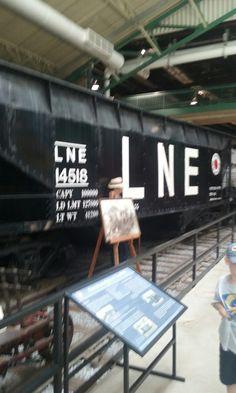 L&NE Open Hopper Strasburg Railroad, Railroad Photography, New England, Trains, Cars, Autos, Automobile, Train, Car