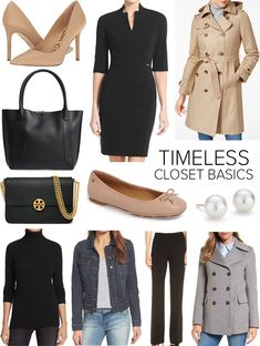 I rounded up a list of 10 wardrobe basics that never go out of style and what makes them timeless. These are the closet classics worth investing in good quality for the long term.