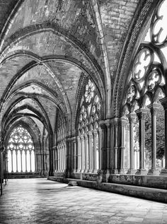 The Cathedral of St. Mary of La Seu Vella (1203-1278) The cathedral is designed in a transitional style between Romanesque and Gothic. Catalonia