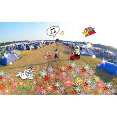 Melt Festival Camp 2014