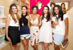 Jamie Chung (2nd from left)