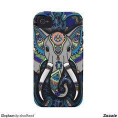 Elephant iPhone 4/4S Cases