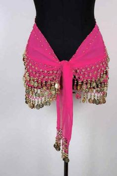 Plus Size Belly Dancing Hip Scarf  they are soo much fun ;)