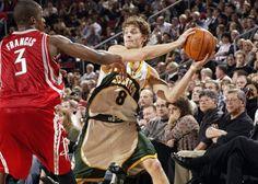 Luke Ridnour Completes NBA Journeyman Cycle, Reunites With Nick Collison ... Luke Ridnour  #LukeRidnour