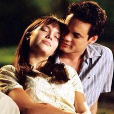 A Walk to Remember with Shane West and Mandy Moore <3