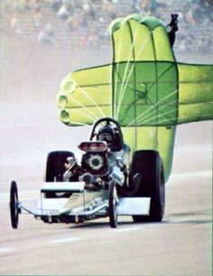 Jade Grenade Top Fueler dropping the laundry at Ontario Motor Speedway Top Fuel Dragster, Nhra Drag Racing, Drag Bike, Motor Speedway, Vintage Racing, Retro Vintage, Nostalgia, Drag Cars, Car Humor