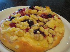 schnelle Pudding-Obst-Streusel-Teilchen « kochen & backen leicht gemacht mit Schritt für Schritt Bilder von & mit Slava