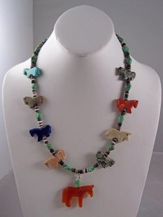 Horse Necklace - Navajo