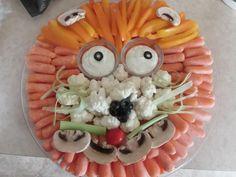 Boy's Noah's Ark Birthday Party Food Ideas