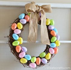 Today I'm sharing my Easter mantel with you and showing you how to create this super easy Easter egg wreath! Perfect for beginners, too. I have an old window that usually hangs out in my garage and I had the perfect project in mind. I headed to my Michael's store and grabbed a couple …