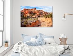 Discover «Castle in the sky», Numbered Edition Aluminum Print by Daniela Constantinescu - From $59 - Curioos