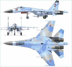 fighter aircraft technical data sheet specifications intelligence description information identification pictures photos images video Russia Russian Air Force aviation air defence industry military technology Air Force Aircraft, Fighter Aircraft, Fighter Jets, Russian Military Aircraft, Russian Fighter, Airplane Drawing, Russian Air Force, 3d Cad Models, War Thunder
