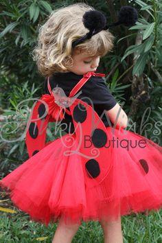 Ladybug Costume by Pinky Winks Boutique.  www.pinkywinks.storenvy.com