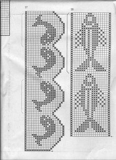 Magazine: Elena Crochet D`Art (tricô para o conforto) - malha de rede, os raios e um gancho - mãos criadoras - Publisher - LINHAS DE VIDA