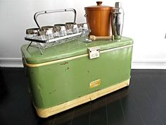 Vintage Cooler - looks just like the one that is out in the shed.
