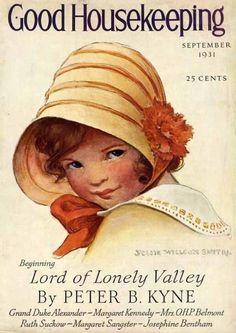 Good Housekeeping Magazine, September 1931 (Jessie Willcox Smith)