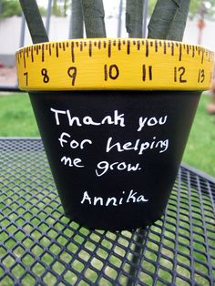 Teacher appreciation flowers | Controlling My Chaos: Teacher Appreciation Flower Pot