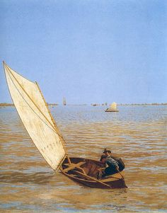 Thomas Eakins Starting out after Rail 1874 Oil on canvas 24 1/4 x 19 7/8 in.