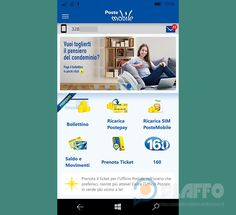 L'app PosteMobile si aggiorna ancora, si passa alla versione 8.0.1 http://www.sapereweb.it/lapp-postemobile-si-aggiorna-ancora-si-passa-alla-versione-8-0-1/        PosteMobile PosteMobile è l'app ufficiale di Poste italiane utile per gestire direttamente dal nostro smartphone numerosi servizi delle poste (Postepay, SIM PosteMobile, Bonifici, Conto BancoPosta, PAGAMENTI NFC, prenotare il Ticket per gli Uffici Postali e molto altro).  L'app per Wind...