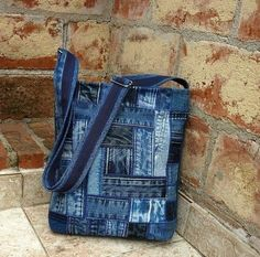 Denim handbags. A few ideas for inspiration | Magazine Inspiration of the Needlewoman