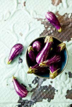 Baby Eggplants via Tartelette
