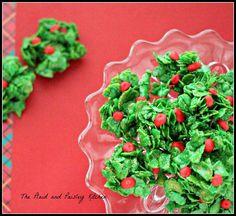 http://www.pandpkitchen.com Winter Holly Berry Cookies