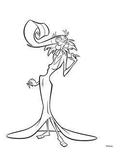 The Emperors New Groove Coloring Page
