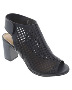 Perforated Booties | Sizes 5.5-11