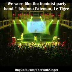 Le Tigre, The Punk Singer http://dogwoof.com/thepunksinger