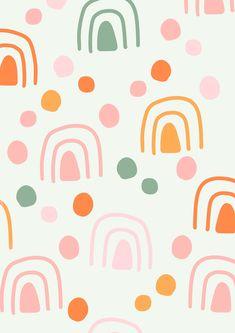 Cute Backgrounds, Cute Wallpapers, Wallpaper Backgrounds, Iphone Wallpaper, Girl Wallpaper, Color Patterns, Print Patterns, Artsy Background, Apple Watch Wallpaper