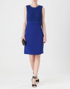 Robe bleu 1 2 3