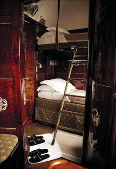 Bunking it on the Orient Express