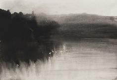 Ellen Phelan, Sunset from Loon Lake: Eleven Drawings, gouache on paper, 1983