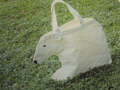 白クマバッグ